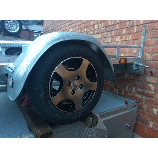 13 inch Alloy Wheel Upgrade to your trailer