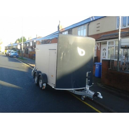 Debon C 500 Fibreglass & Aluminium Box Van Trailer