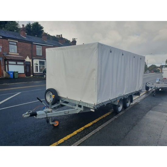 ***** Now Sold ******Used Bateson 2630 Platform 10'X6'6 TRAILER C/W Sides & High Cover
