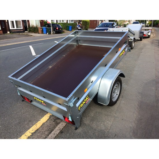 6' X 4' Trigano 750 kg General purpose trailer