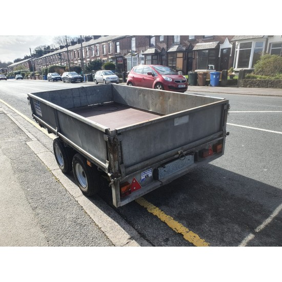 ****** Now Sold ****** Used Ifor Williams 8 X 5 Flatbed trailer fully serviced, new floor