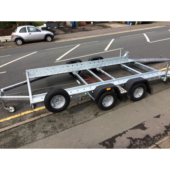 Woodford Lightweight Car Transporter trailer 1600 kg Smart For Four
