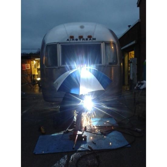 Airstream Caravan Axle and Coupling Swap