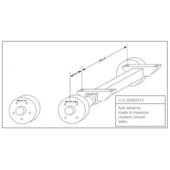 Replacement Trailer Axles