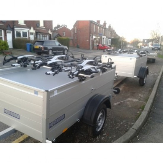 Beautiful All Aluminium Anssems GT500-151-HT-Pro-Ride 4 Camping Trailer with Hard Top and 4 Bike Racks