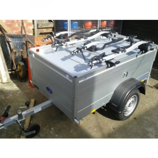 Beautiful All Aluminium Anssems GT500-181-HT-Pro-Ride 4 Camping Trailer with Hard Top and 4 Bike Racks