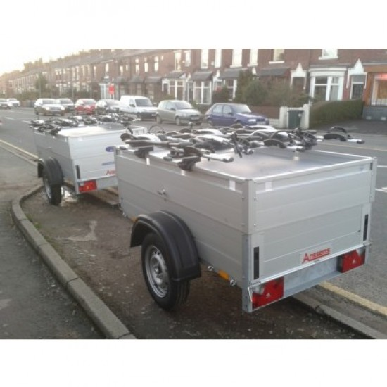 Beautiful All Aluminium Anssems GT750-201-HT Camping Trailer with Hard Top and 4 Bike Racks