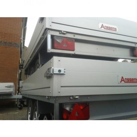 PLTT 1350-305-150 1350KG Twin Axle Flat Bed Anssems