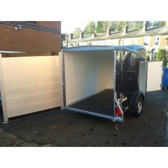 Debon Cargo 1300 fully Fibreglass Box Van Trailer