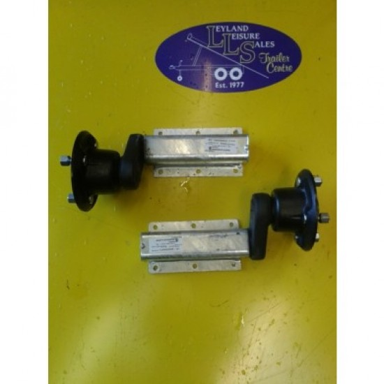 Pair 550kg Suspension Unit Complete with Sealed for Life Bearing Hub