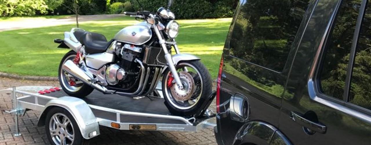 Motorbike trailers